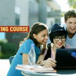 A Group of Students Working Happily | 5 Benefits of Content Writing Course to Students