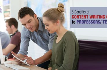 Content Writing Skills provides a way to deliver information in the most effective, compact and accurate way. Here are top t benefits for Professionals/Teachers