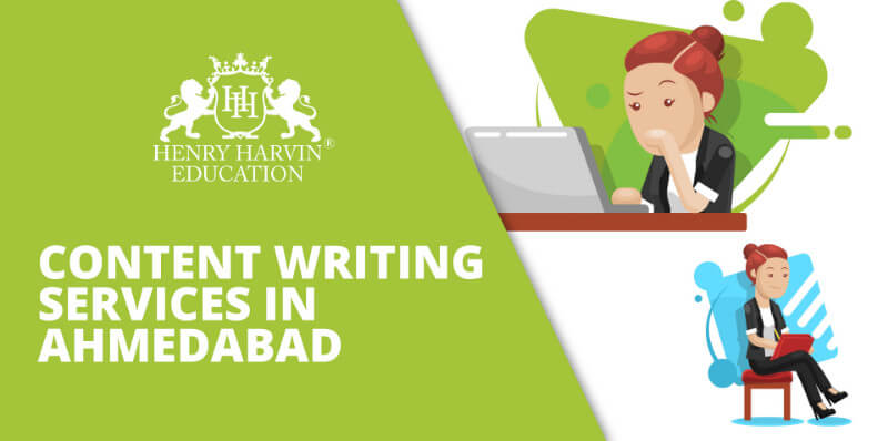 Content Writing Services in Ahmedabad | A Gril planning about Content Writing Services