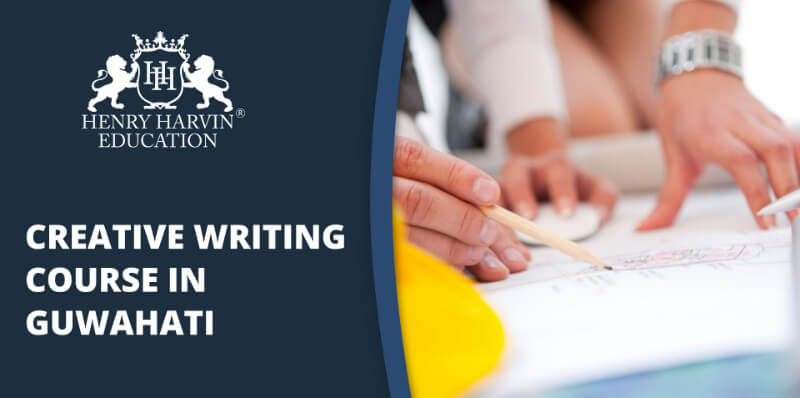 Professional working upon Creative Writing Content | Creative Writing Course in Guwahati