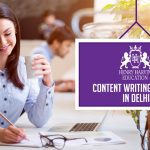 A girl happily pursuing content writing | Best Content Writing Courses in Delhi