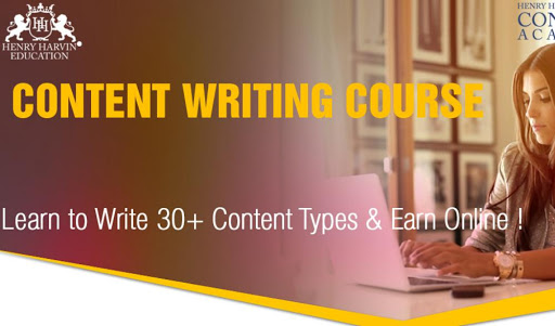 A Professional Busy with her content writing work   Best Content Writing Course in Guwahati