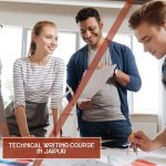 A Group of Professionals working upon technical content writing | Technical Writing Course in Jaipur