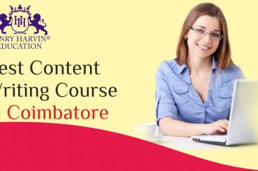 A Student working on the laptop happily | Best Content Writing Course in Coimbatore