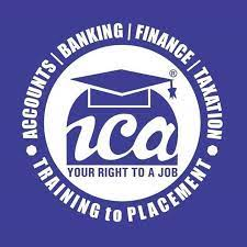 ICA LOGO  With graduation cap in dark blue  ICA - your right to a job